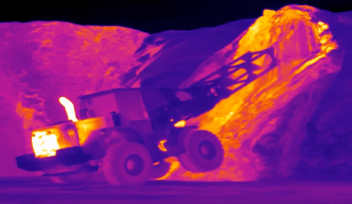 Termisk thermal imaging fire prevention