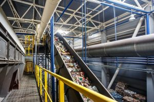 Bytronic waste recycling