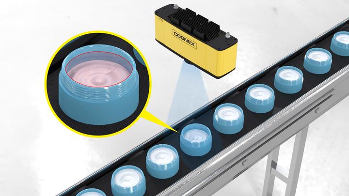 Cognex 3D-A5000 Bytronic Vision automation conveyor