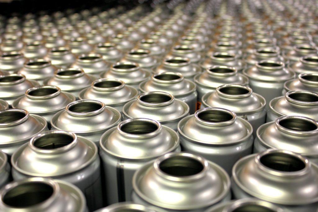 Aerosol cans web